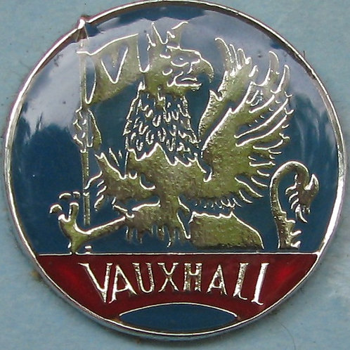 Badge - Vauxhall Blue/Red (25 mm Round)