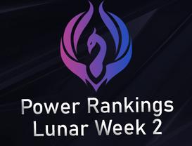 Power Rankings Lunar Division W1