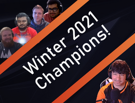 Winter 2021 Champions!