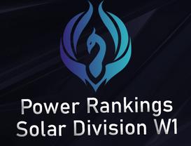 Power Rankings Solar Division W1