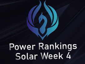Power Rankings Solar Division W4