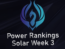 Power Rankings Solar Division W3