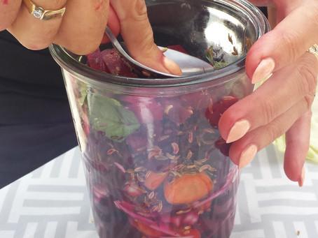 1 september workshop fermenteren van Astrid Geertsen