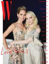 Jennifer Lawrence + Emma Stone by Juergen Teller