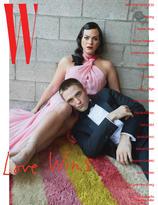 Daniela Vega + Robert Pattinson by Juergen Teller