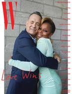 Tom Hanks + Mary J Blige by Juergen Teller