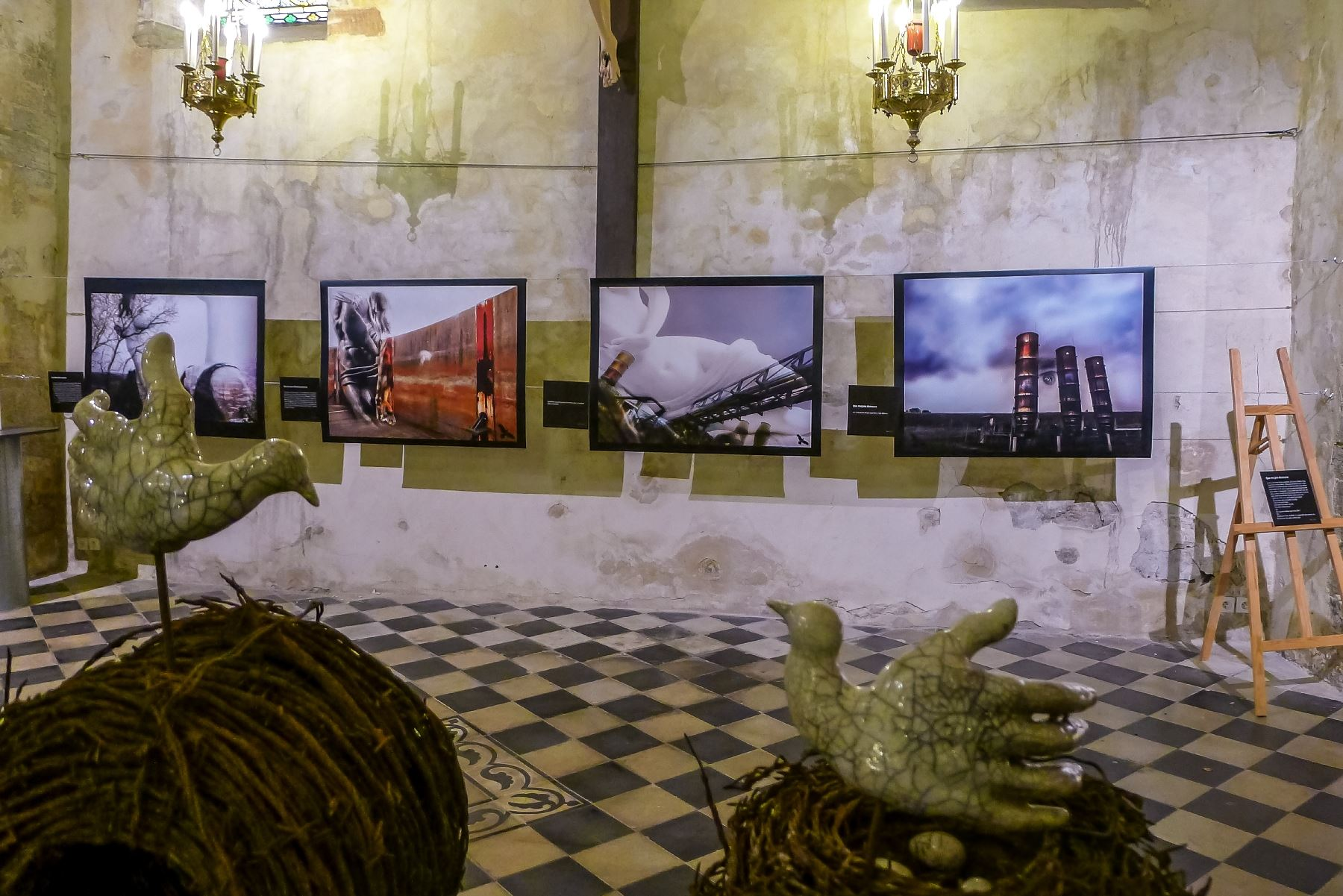 Church exhibit