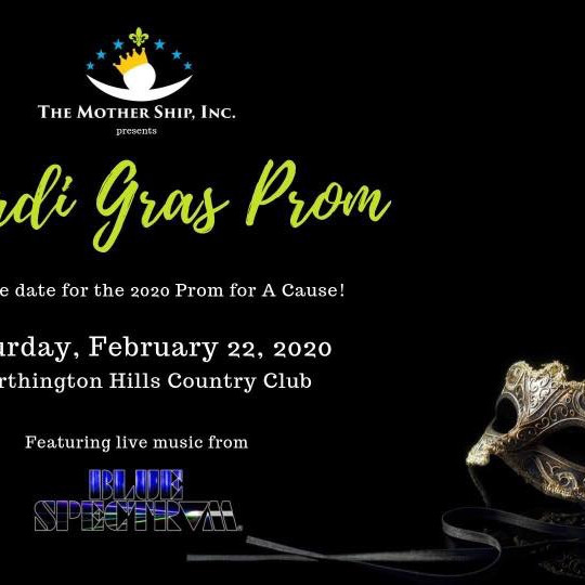 Prom for a Cause 2020: Mardis Gras!