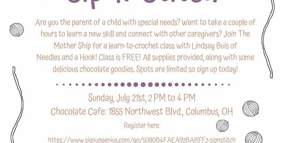 Crochet Event with Lindsay Buis
