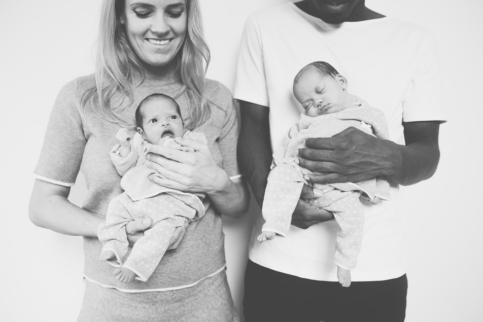 Newborn lifestyle Maleah & Serah