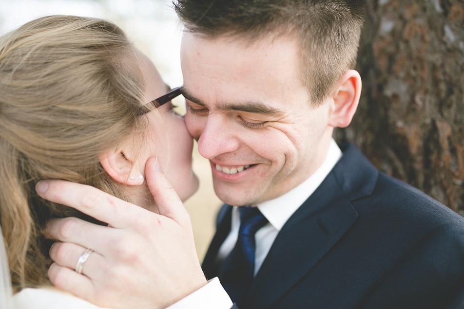 Sneak peek bruiloft Wesley & Samantha