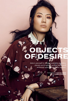 Linli for l'Officiel Malaysia