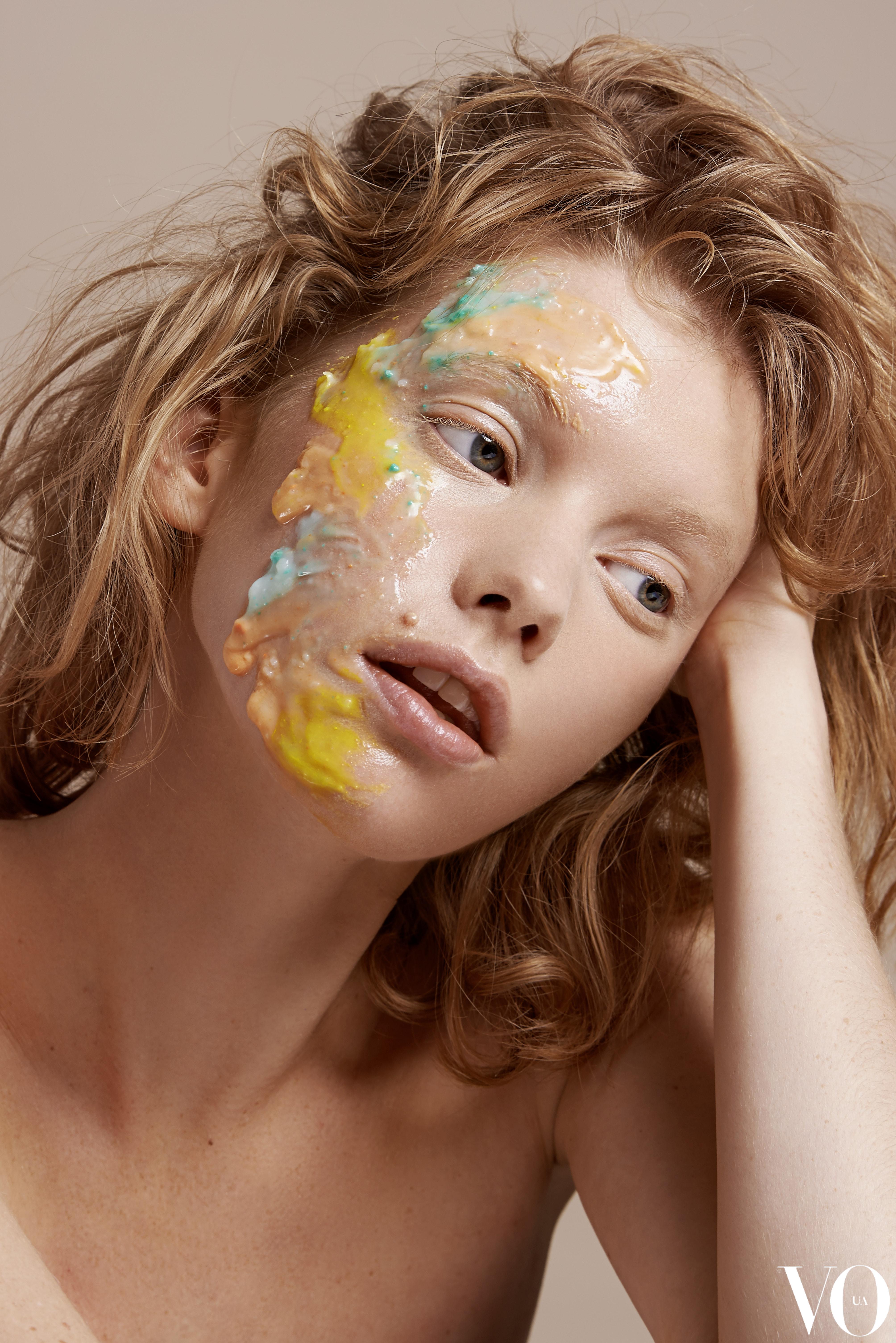 Katya Vlasova for Vogue Ukraine