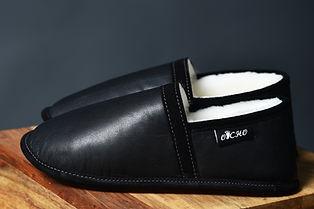 pantoufle de mouton OPCHO au pied chaud