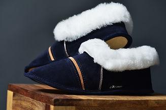 pantoufle de mouton OPCHO au pied chaud modèle 420