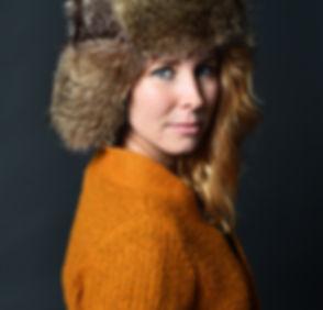 chapeau fourrure modèle russe chat sauvage