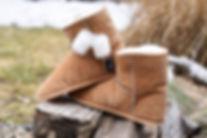 pantoufle de mouton OPCHO au pied chaud modèle 480