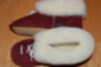 pantoufle de mouton OPCHO au pied chaud modèle 440