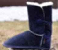 pantoufle de mouton OPCHO au pied chaud modèle 460