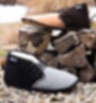 pantoufle de mouton OPCHO au pied chaud modèle 320