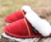 pantoufle de mouton OPCHO au pied chaud modèle 220