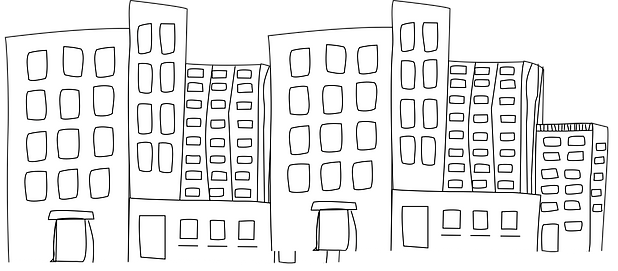 The buildings of District 52