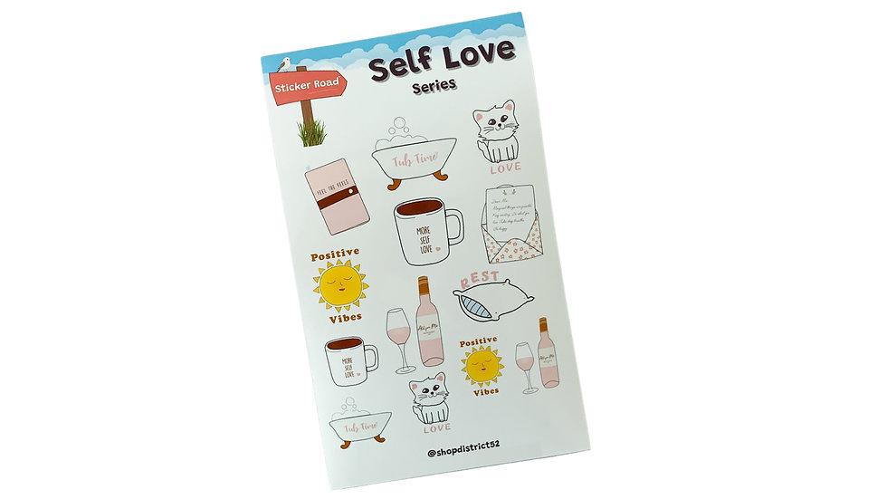 Self Love Planner Stickers