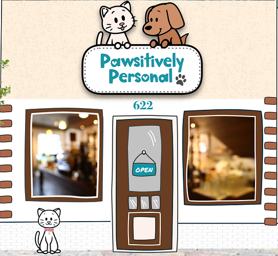 Pawsitively Personal store front