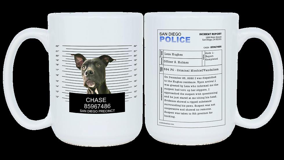 Mug Shot Custom Mug with Pet Photo