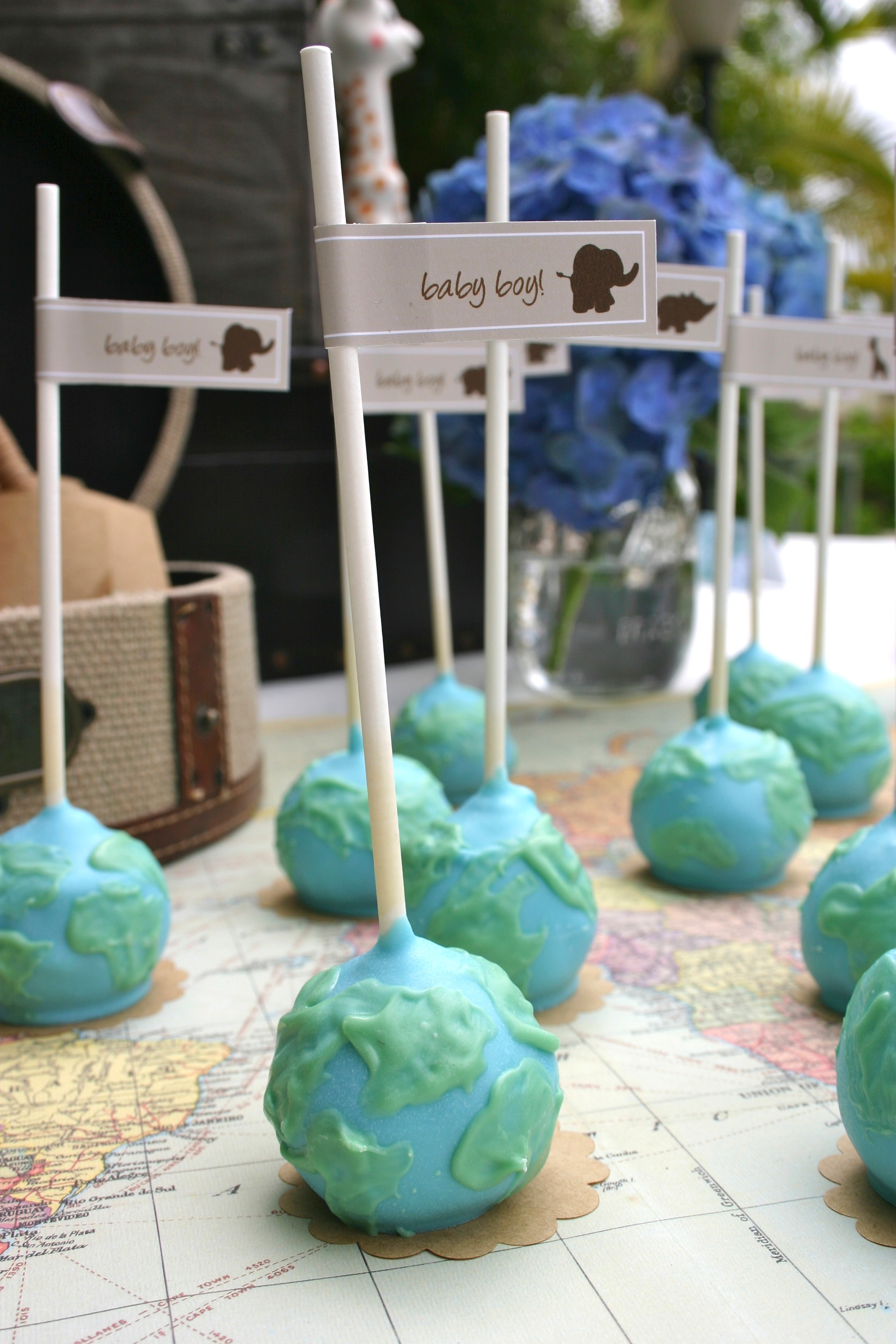 Around the World Baby Shower