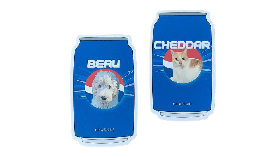 Pepsi Pet CustomPet Sticker