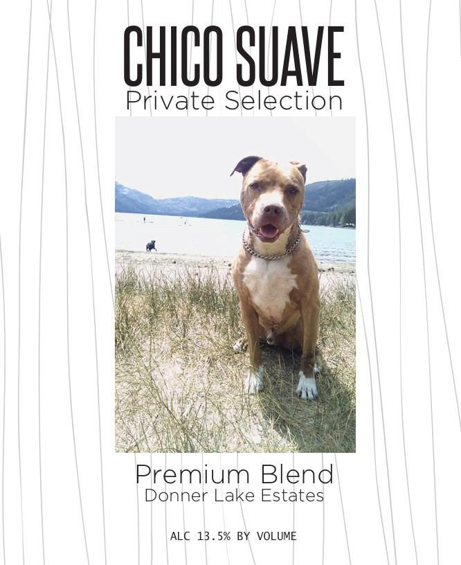 Chico Pet Wine Label