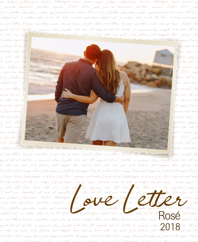 Love Letter Wine Label