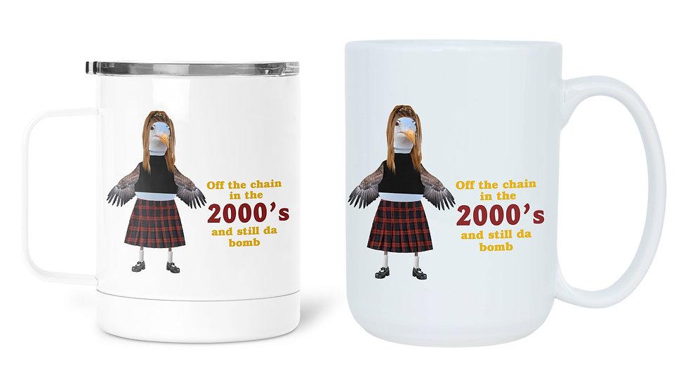 2000's Fashion Slang Birthday Mug