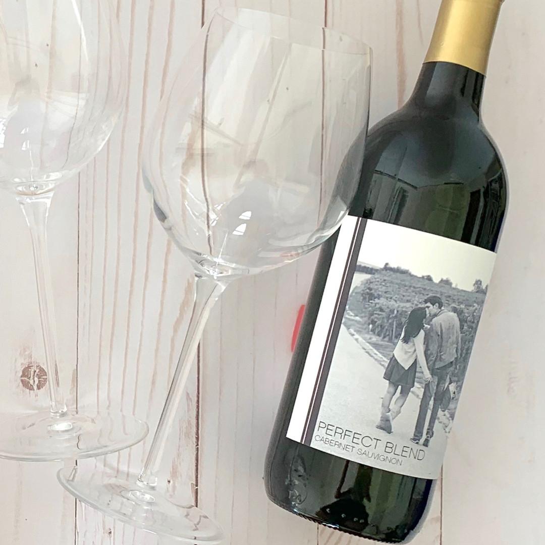 Perfect Blend Wine Label