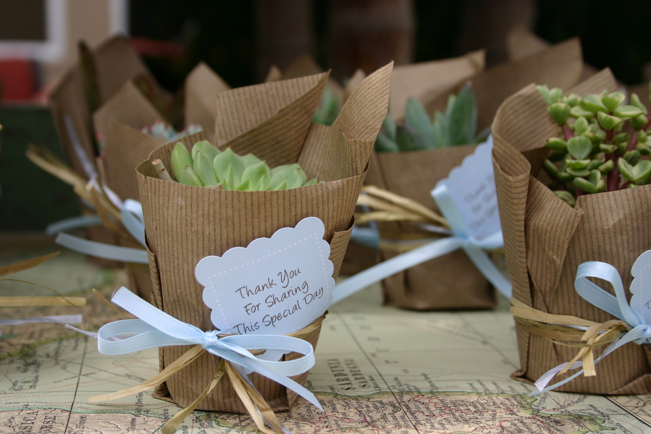 Around the World Baby Shower Favors