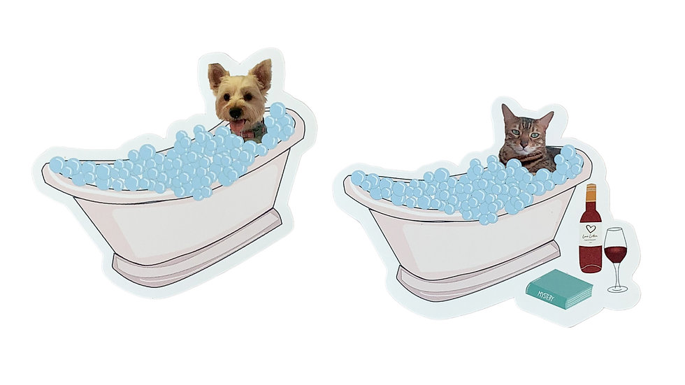 Tubtime Custom Pet Sticker