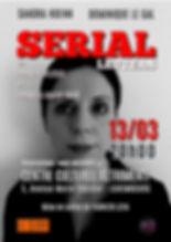 SERIAL LETTERS - Affiche 2 - Sandra-page