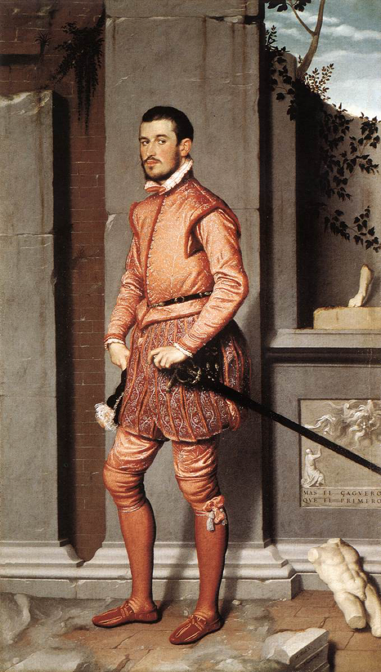 Moroni- The Gentleman in Pink, 1560