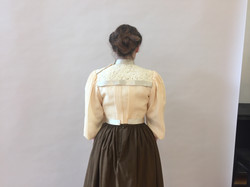 Reproduction Bodice on Model