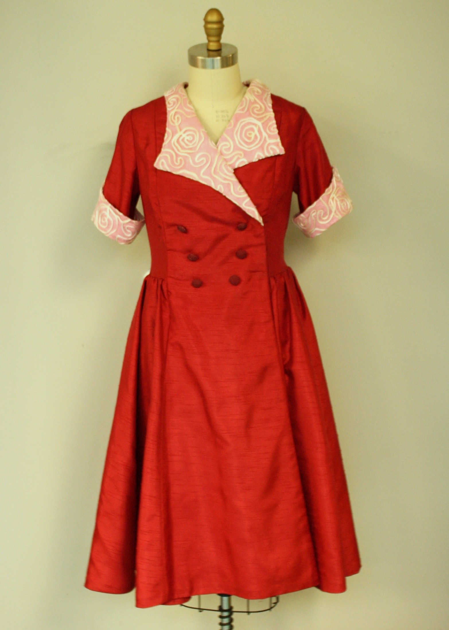 Mrs. Lambchop Dress Front
