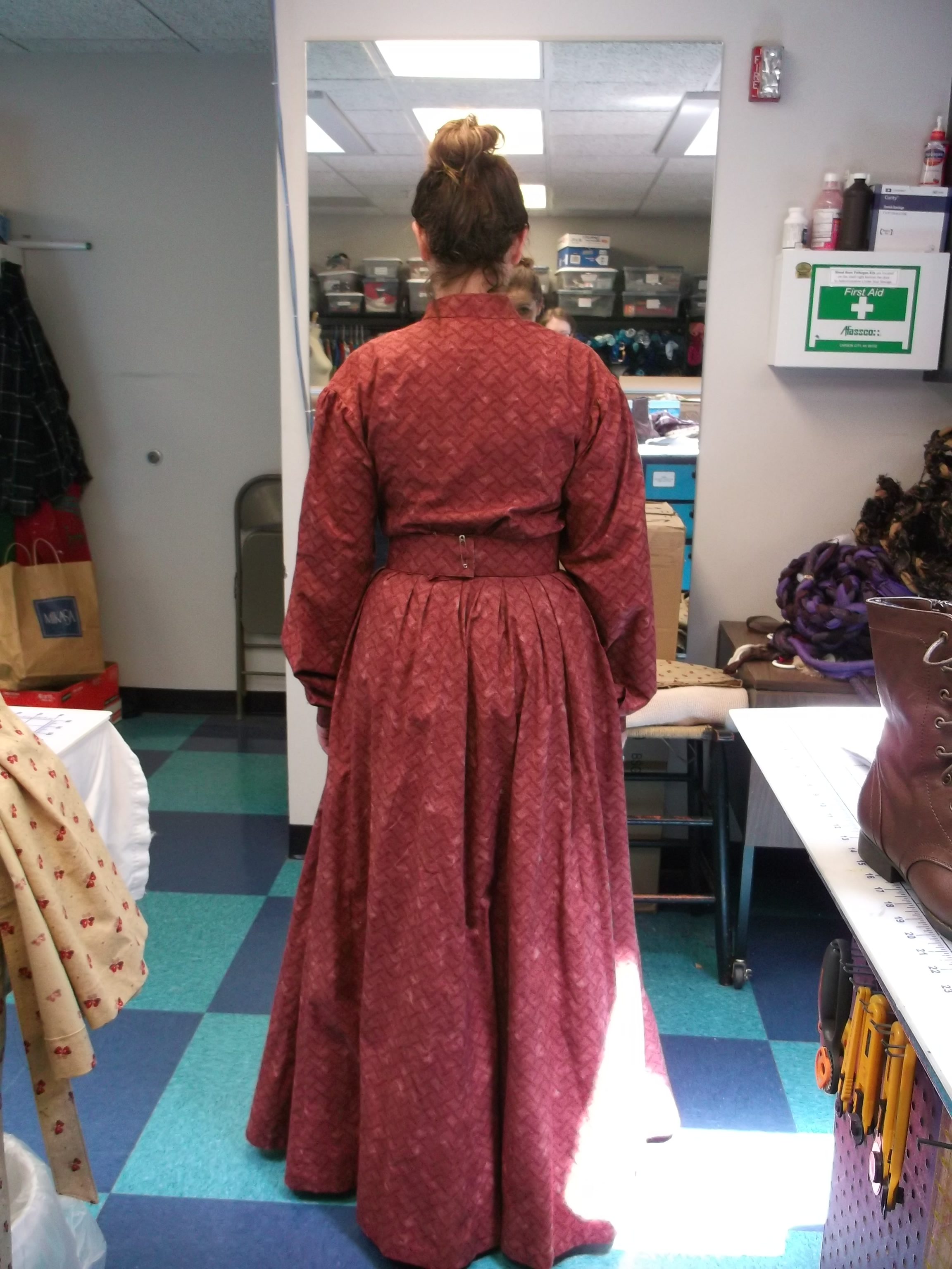 Final Fitting - Back View