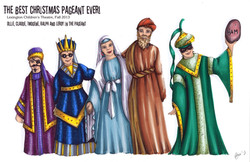 Joesph, Mary & the Wisemen Rendering