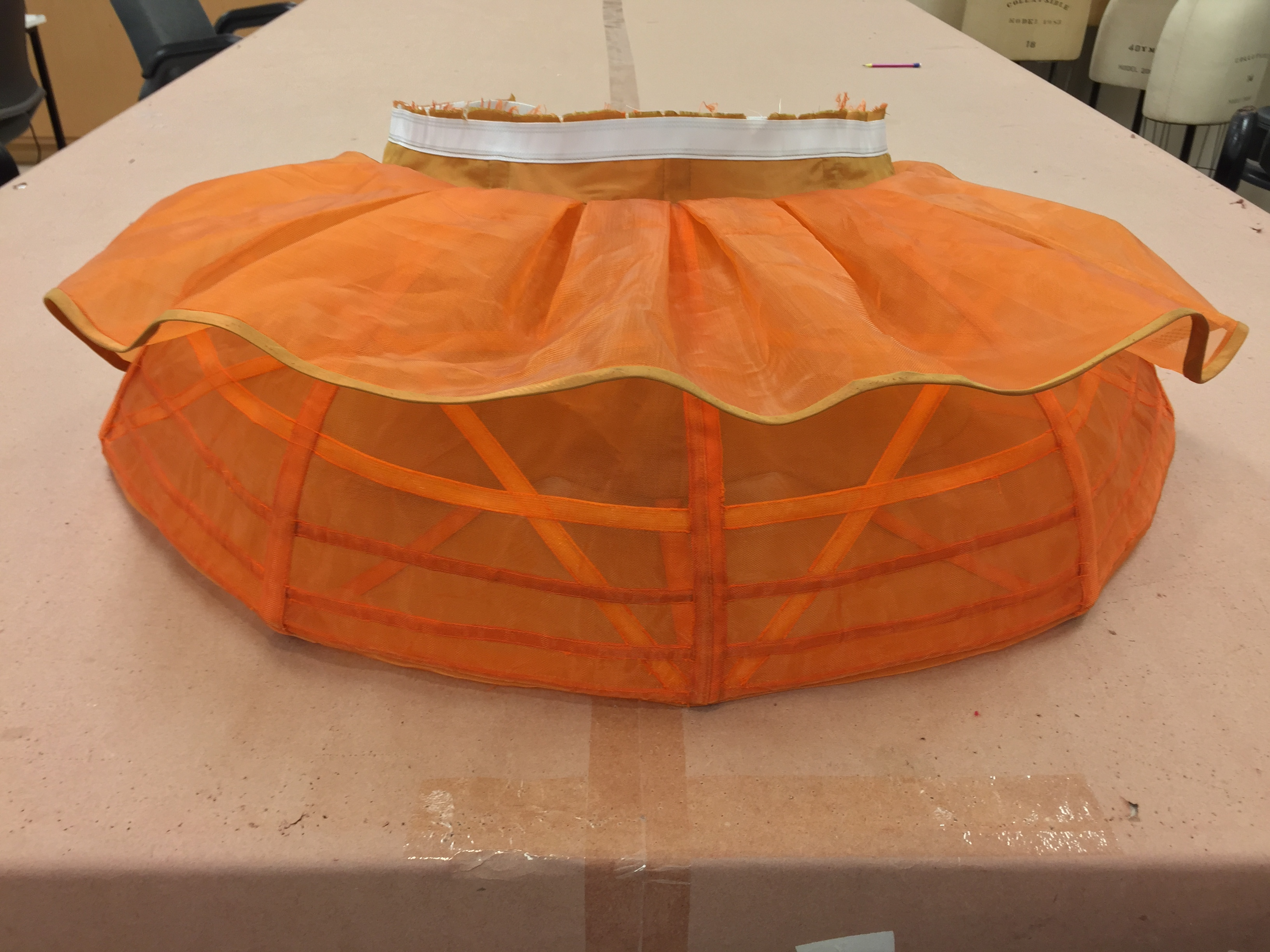 Madame Pernelle's Bustle Structure