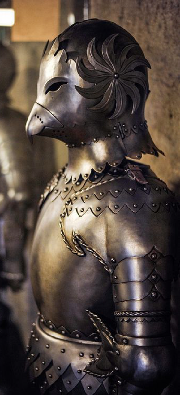 Inspiration - Prague Castle Armor