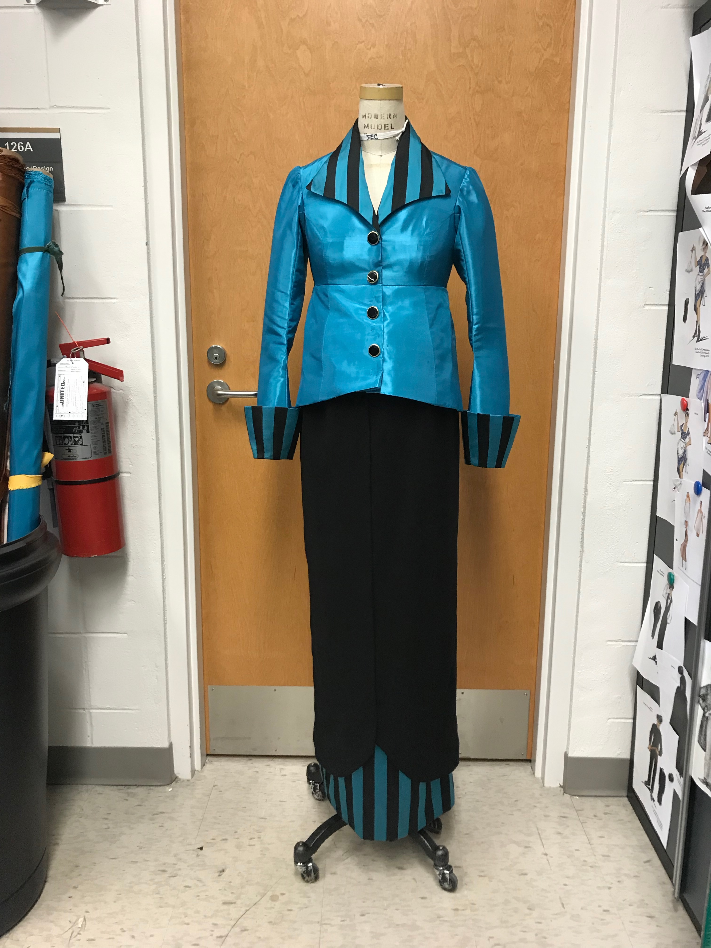 Madeleine Astor Arrival Suit