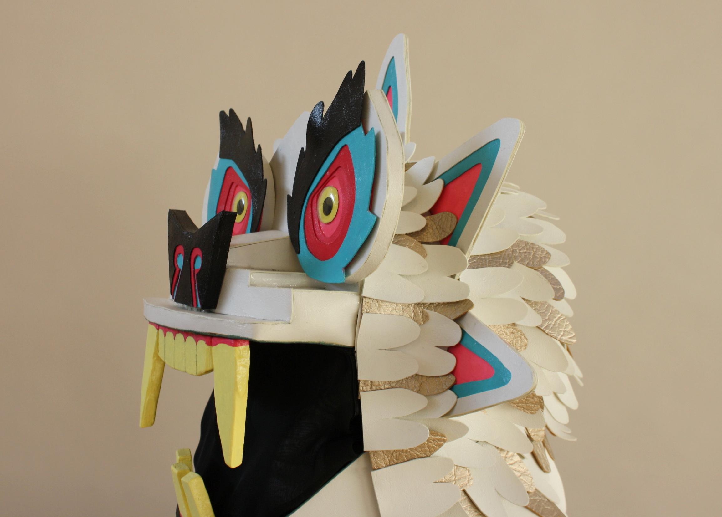 Full Head Mask- Left Side