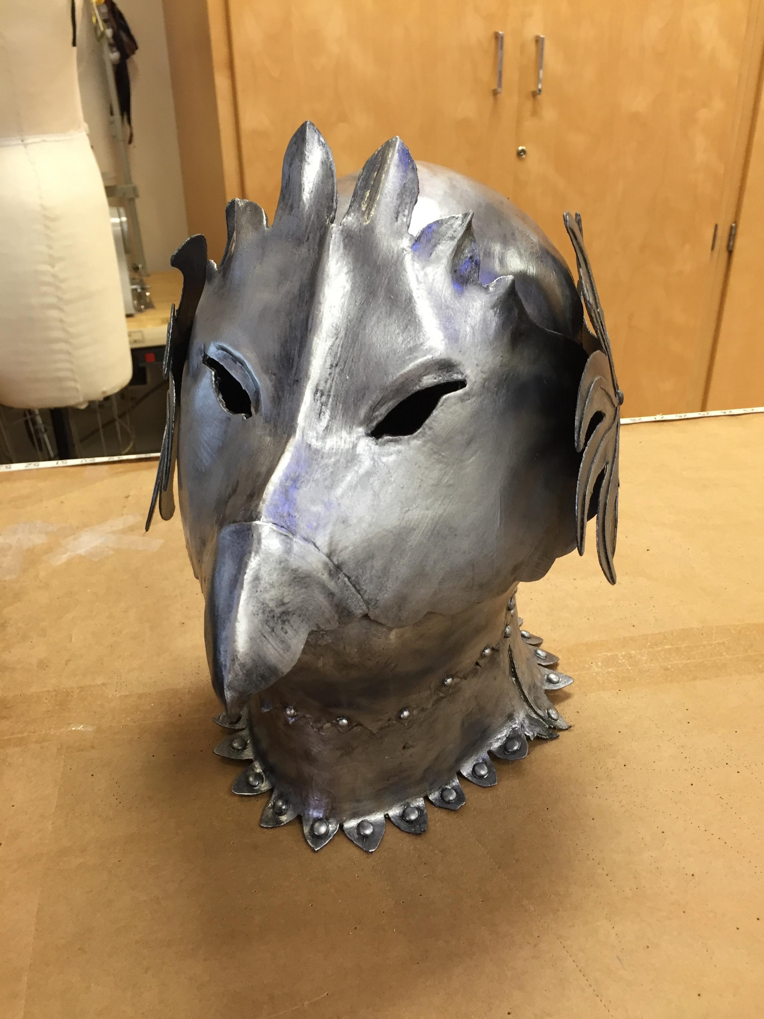 Bird Helmet - Front