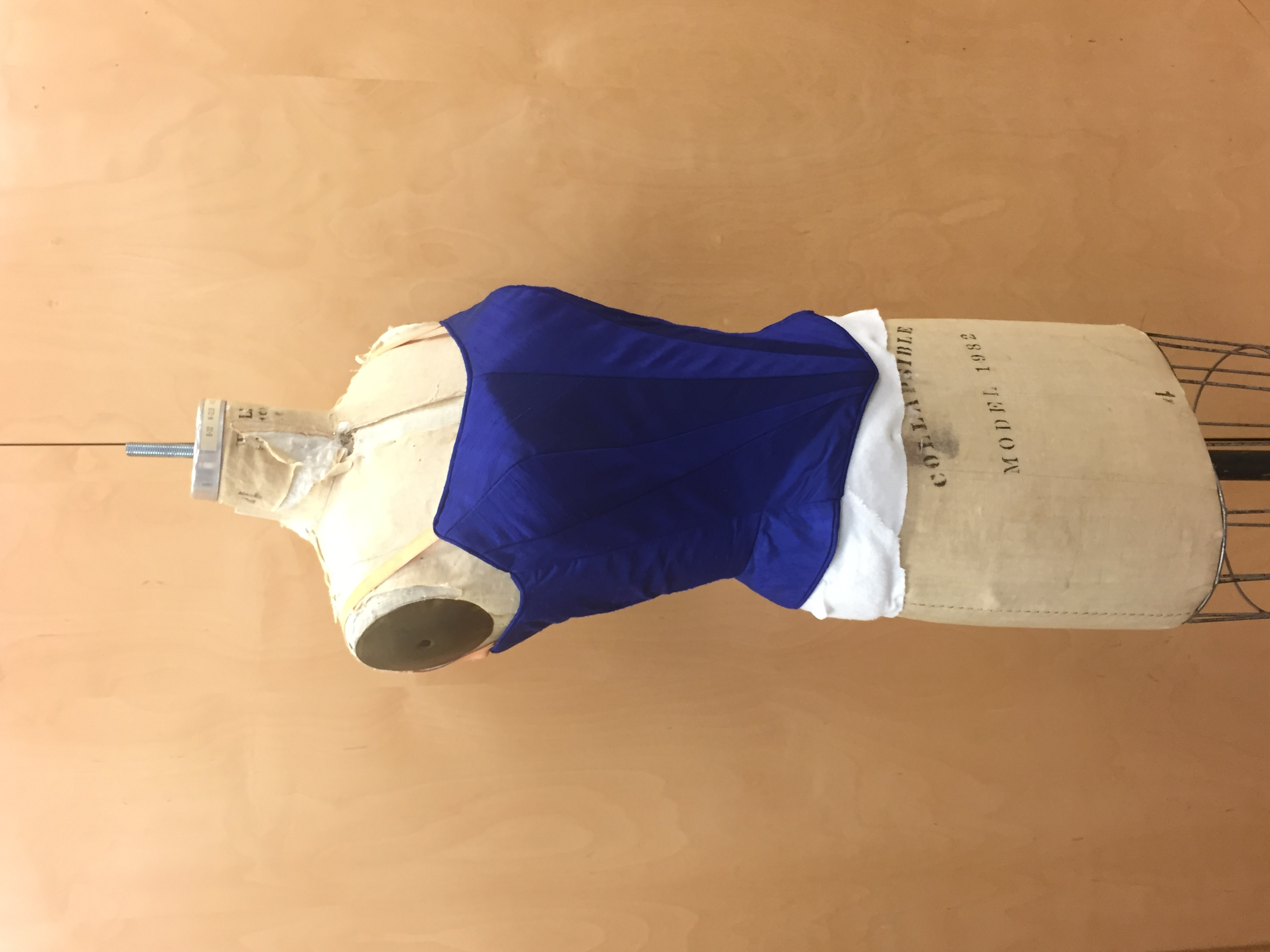 Ballet Bodice Side Front View