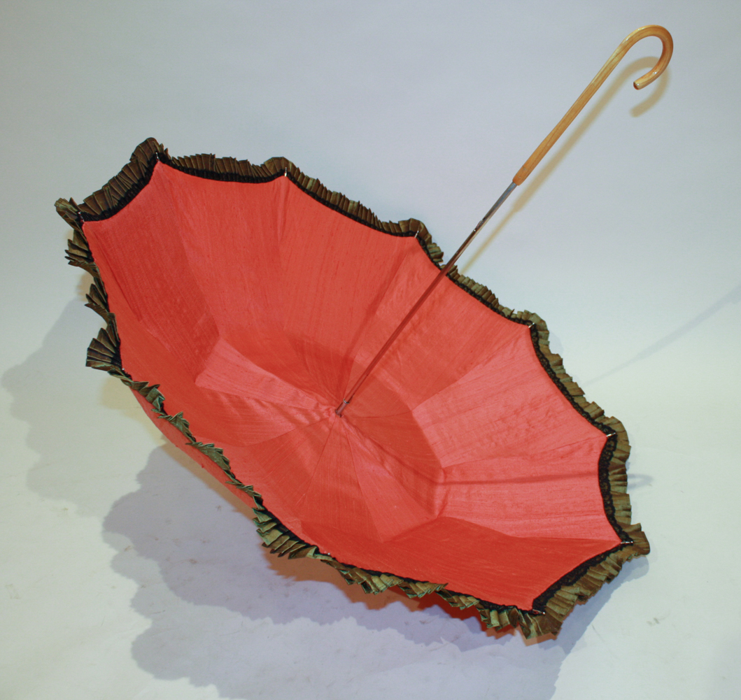 Silk Parasol with Lining